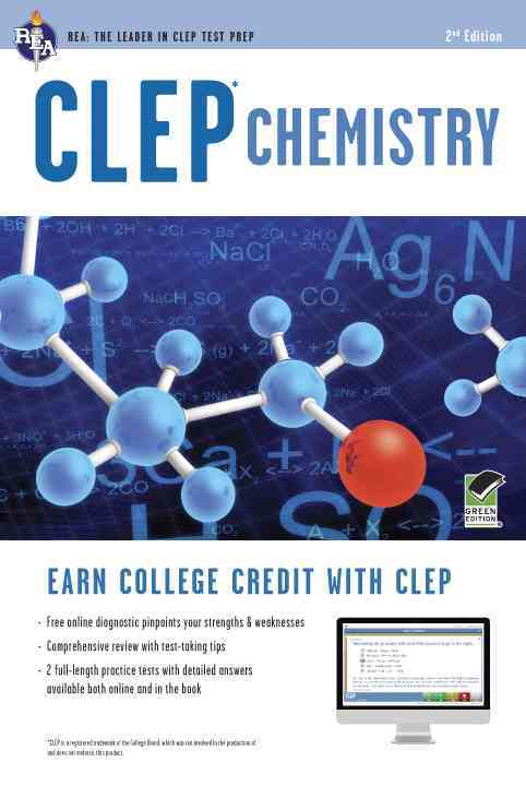 Clep Chemistry + Online Practice Tests By Reel, Kevin R.